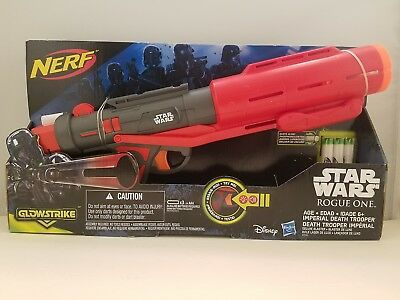 Disney Hasbro Star Wars Rogue One Nerf Imperial Death Trooper Deluxe Blaster NEW