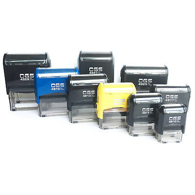 CGS Personalized Custom 2-10 Lines Return Address Self Inking Rubber Stamp