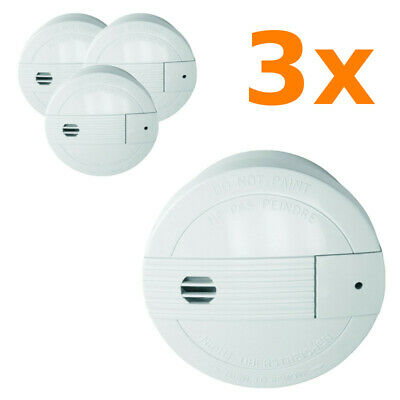 Connectable 85 dB Batteries Included Set of 2 Pieces Smartwares 10.040.95 RM175RF//2 Smoke Detector