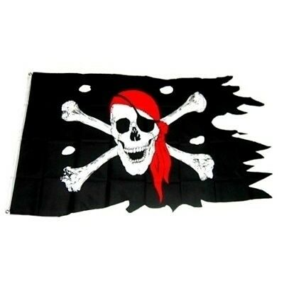 Piratenfahne Piratenflagge 90 X 150 Cm Piratenparty
