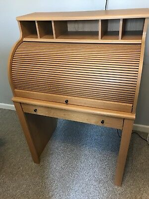 Roll Top Bureau Desk