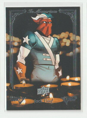 2017 Upper Deck Marvel Annual In Memoriam IM-4 Jack Flag