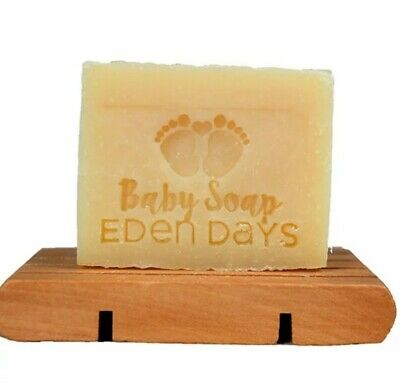 Eden Days Body 100% Natural Vegan Organic Cocoa Butter Coconut Oil Baby Soap