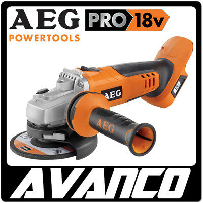 AEG 18V 125mm Angle Grinder Skin Only Li-Ion Cordless BRAND NEW