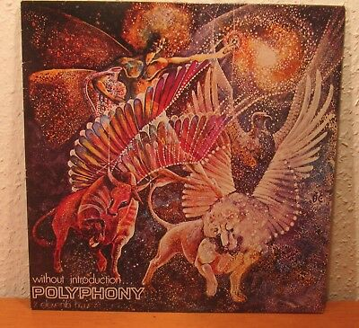 Polyphony Without Introduction Rare Psych Rock Reissue Vinyl Lp