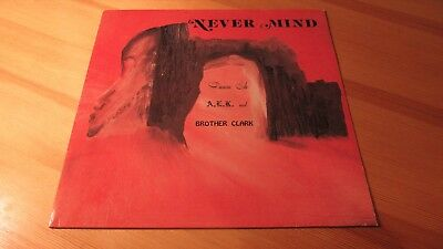 Lp Brother Clark Never Mind   Rare Psychedelic Rock Reissue