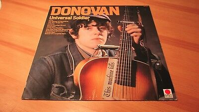 Lp Donovan Universal Soldier 1983 Spot Records