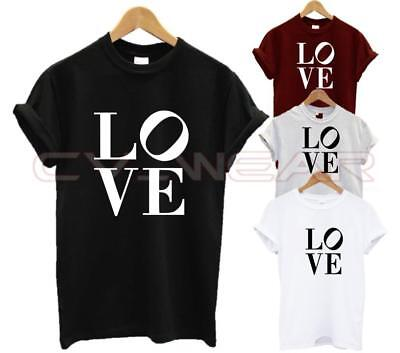 Love T Shirt Wifey Hubby Hipster Fashion Wife Husband Swag Dope Girlfriend Unise