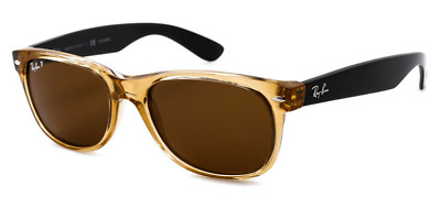 e08a429d55 NEW RAY BAN RB2132 945 57 Honey and Black w Polarized Lenses 55mm ...