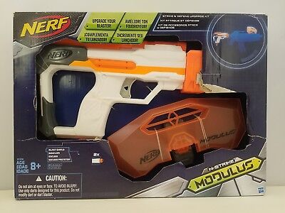 NERF N-STRIKE MODULUS Strike and Defend Upgrade Kit by Hasbro | NEW w/ Free Ship