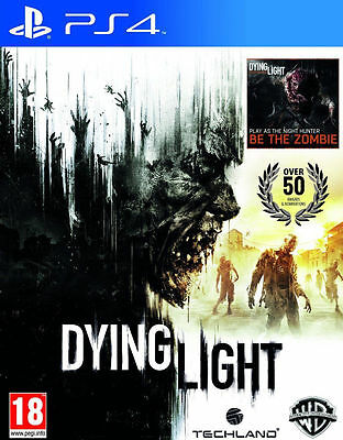 Dying Light (PS4) Excellent - Same Day Dispatch* via Super Fast Delivery