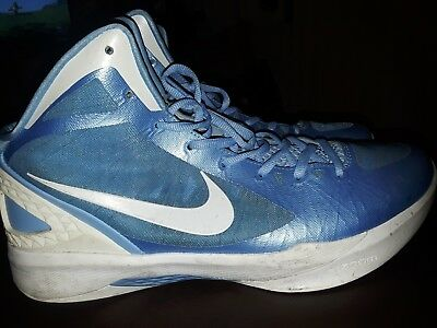 on sale c6ab7 3cb45 Nike 2011 Hyperdunk Zoom size13.5 Basketball mens shoes LIGHT BLUE   WHITE  (RARE