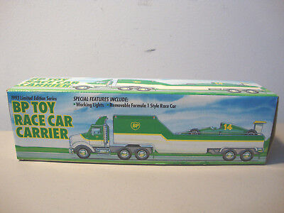 1993 Bp Toy Race Car Carrier   *nib*      L@@k