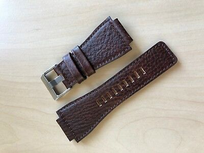Bell & Ross Aftermarket Replacement Leather Watch Strap Band BR-01 BR-03