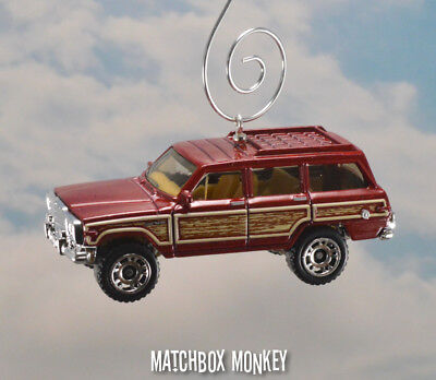Jeep Christmas Ornament.Vintage Style 80 S Custom Amc Jeep Grand Wagoneer 4x4 Christmas Ornament 1 64
