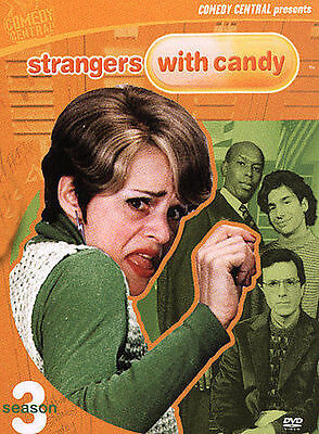 Strangers with Candy - Season 3 (DVD, 2004, 2-Disc Set) NEW