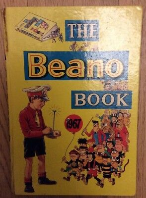 Vintage The Beano Annual/Book 1967 Good Condition.