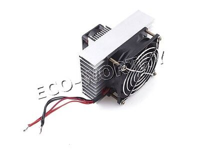 DC12V Semiconductor electronic cooling air conditioner refrigerator