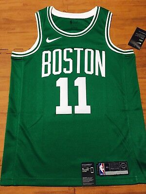 timeless design 0a8cc 46bcc NWT Kyrie Irving Boston Celtics Icon Edition Green Swingman Jersey Nike 44