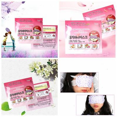 10 Pcs Soothing Sleep Relaxing Steam Eye Mask Sleeping Patch Self-Heating