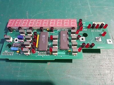 Racal Dana 1998 Frequency Counter Front Panel