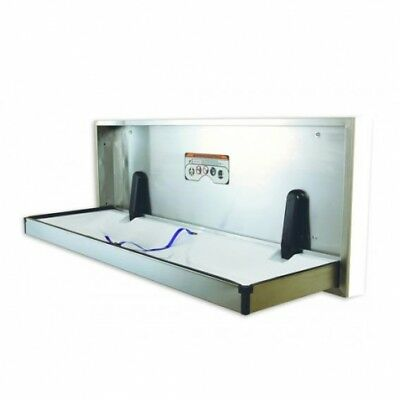 Jd Macdonald Baby Change Table Ecp-Ss-R Recessed Stainless Steel Silver