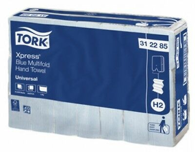 Tork Sca H2 312285 Xpress Multifold Hand Towel Blue 21 Cm X 8Cm