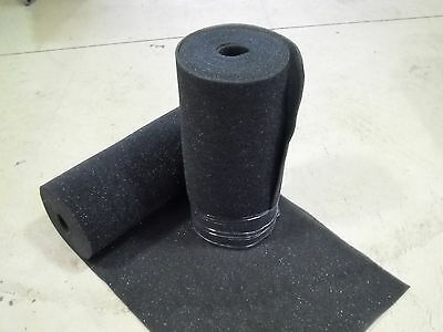 """Foam Roll   Open Cell 30PPI 24"""" x 300"""" 1/4""""  padding  made in the USA"""