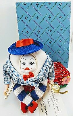 Vintage Madame Alexander HUMPTY DUMPTY Doll Alice in Wonderland Collection 13060