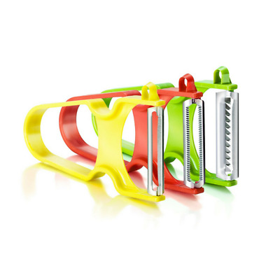 Zena Swiss - Rapid trilogy pack of 3 vegetable peelers (Star, Julienne, Tomi)