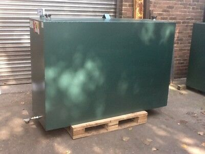 STEEL HEATING OIL TANK 1150Ltr BUNDED METAL (NEW).QUICK DELIVERY