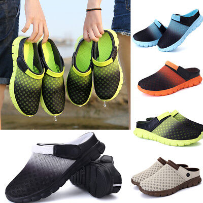 ea21557b09fa62 MENS BEACH SANDALS Slippers Womens Clogs Mules Sports Flip Flop Summer Shoes  UK - £3.99