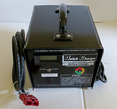 24 Volt  Battery Charger Scrubber, Pallet Jack SB-50RED IN STOCK MADE IN THE USA