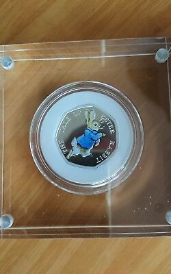 UK 2017 UK Peter Rabbit™ 50p Silver Proof Coin