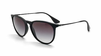 1770dc86bd Ray-Ban RB4171 622 8G Erica Sunglasses Rubber Black Frame   Grey Gradient  Lens