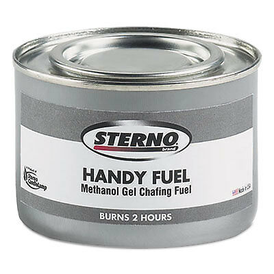 Handy Fuel Methanol Gel Chafing Fuel, 189.9g, Two-Hour Burn, 72/Carton 20102
