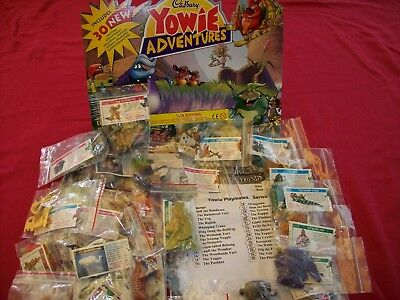 Yowies Rare Adventue Set *series 6 Full Set Of 30 + Papers,new Bags + Checklist