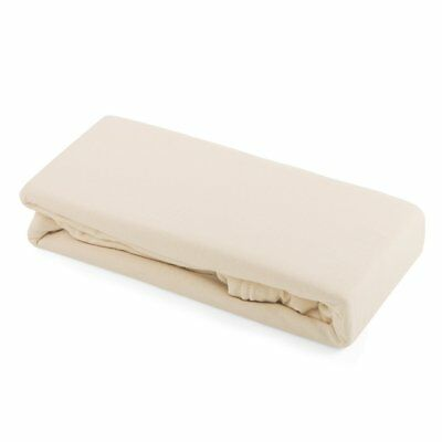 Junior Joy 2 Pack Pram Fitted Sheets Cream