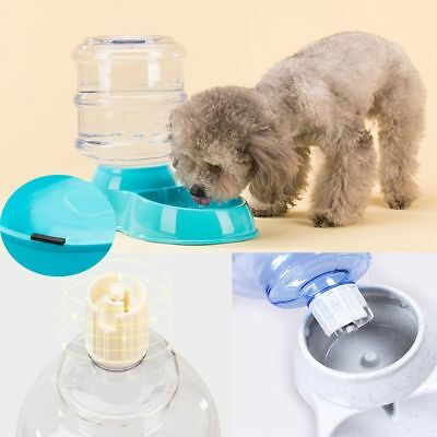 Eco-friendly Pet Water Drinker Dog Automatic Feeder Cat Bowl Food Dispenser
