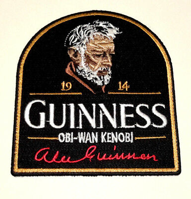 """Star Wars Alec Guinness Memorial 4"""" Embroidered Patch- USA Mailed (SWPA-KL-27)"""