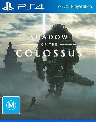 Shadow of the Colossus PS4   PlayStation 4 - New Game