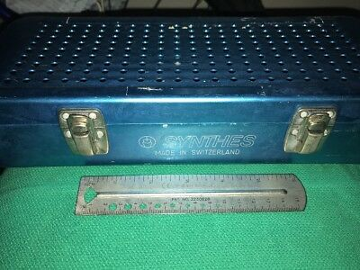 Synthes Instrument Container W/separaror Tray