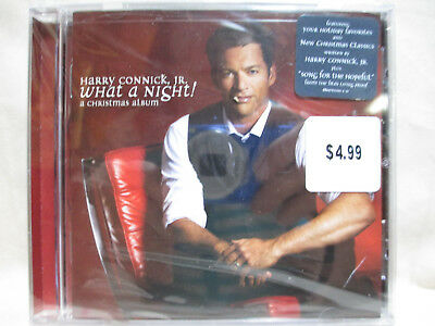harry connick jr what a night a christmas album cd new factory