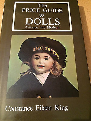 THE PRICE GUIDE TO DOLLS ANTIQUE AND MODERN Collectors' Club 1977 Illustrated