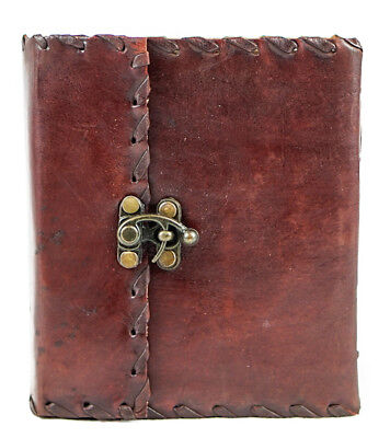 Handmade Leather Journal Dairy Notebook Travel Book Free Shipping AU