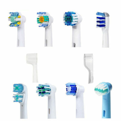 4x Electric Replacement Toothbrush Heads For Braun Oral-B Precision Clean AU