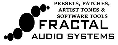 Fractal Audio  / Fx8 / Ax8 Presets, Patches, Settings, Artist Tones Cabs
