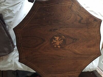 Antique Victorian Octagonal coffee Table
