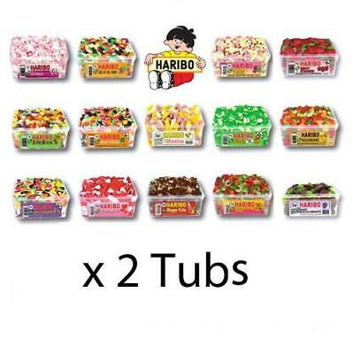 2 FULL TUB OF HARIBO SWEETS Wholesale Retro