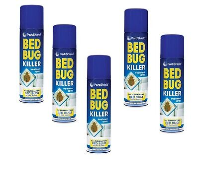 Bed Bug Spray Mattress Treatment Kill Bed Bugs Multipacks* Safe Home Easy Use